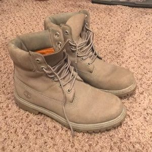 Gray Timberlands Women's Size 8